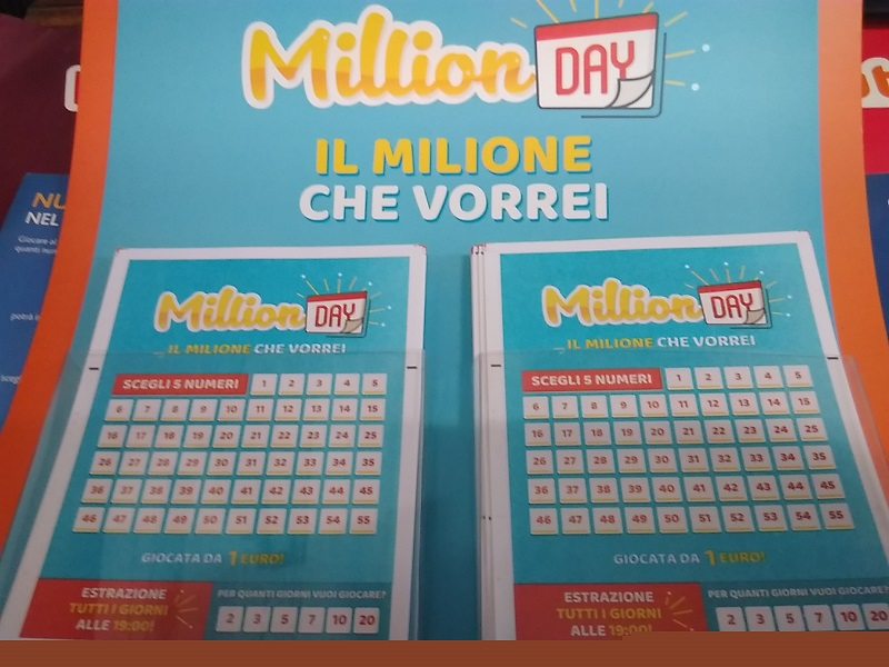 Estrazione Million Day 21 agosto: i numeri vincenti