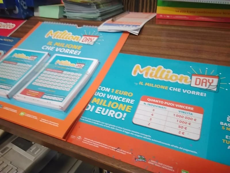 Estrazione Million Day 20 agosto: i numeri vincenti
