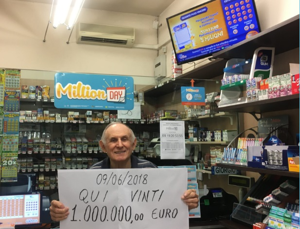Estrazione million day 17 ottobre i numeri vincenti for Million day estrazione di oggi