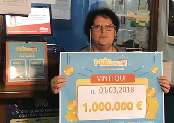 Estrazione million day 25 giugno i numeri vincenti for Million day estrazione di oggi