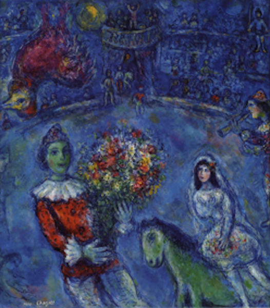 marc Chagall pittore mostra