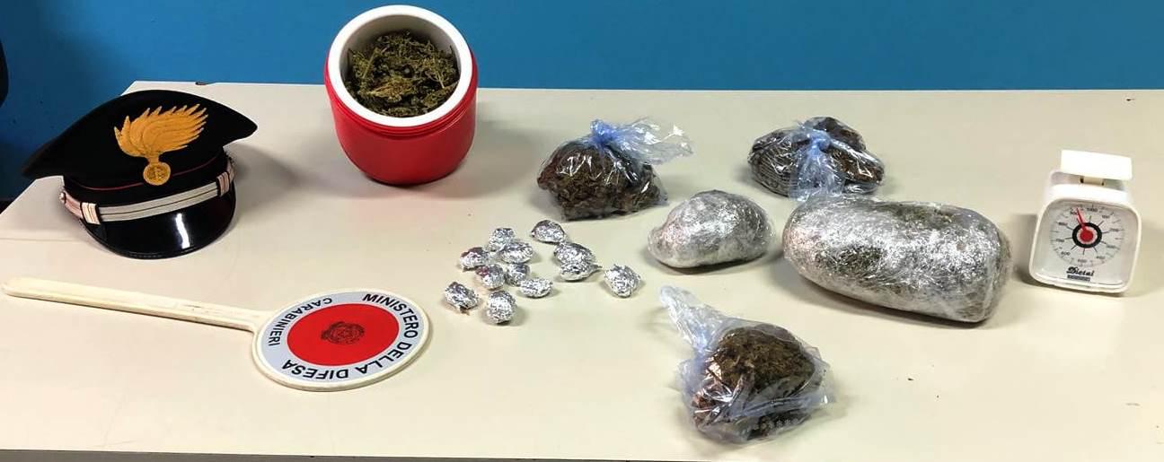 Mascalucia, 25enne in manette per spaccio: marijuana nella centralina dei termosifoni