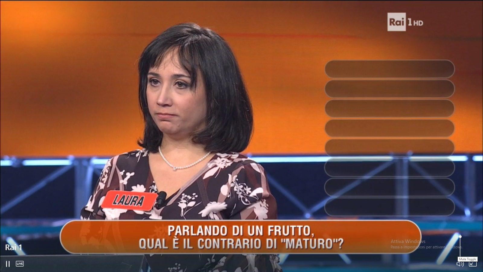 """Televisione, la paternese Laura La Manna concorrente a """"L'Eredità"""": tutti inchiodati davanti alla tv"""