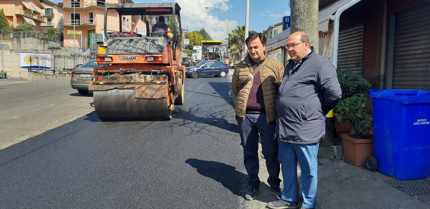 Bronte, rifatto il manto stradale di via Messina: spesi 150 mila euro