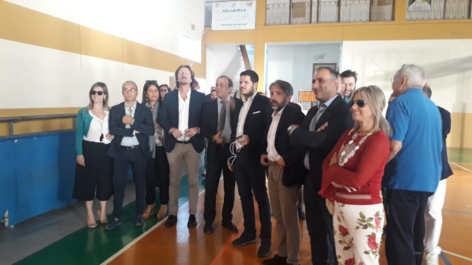 """Paternò, l'assessore Manlio Messina visita gli impianti sportivi: """"Servono nuovi progetti"""""""
