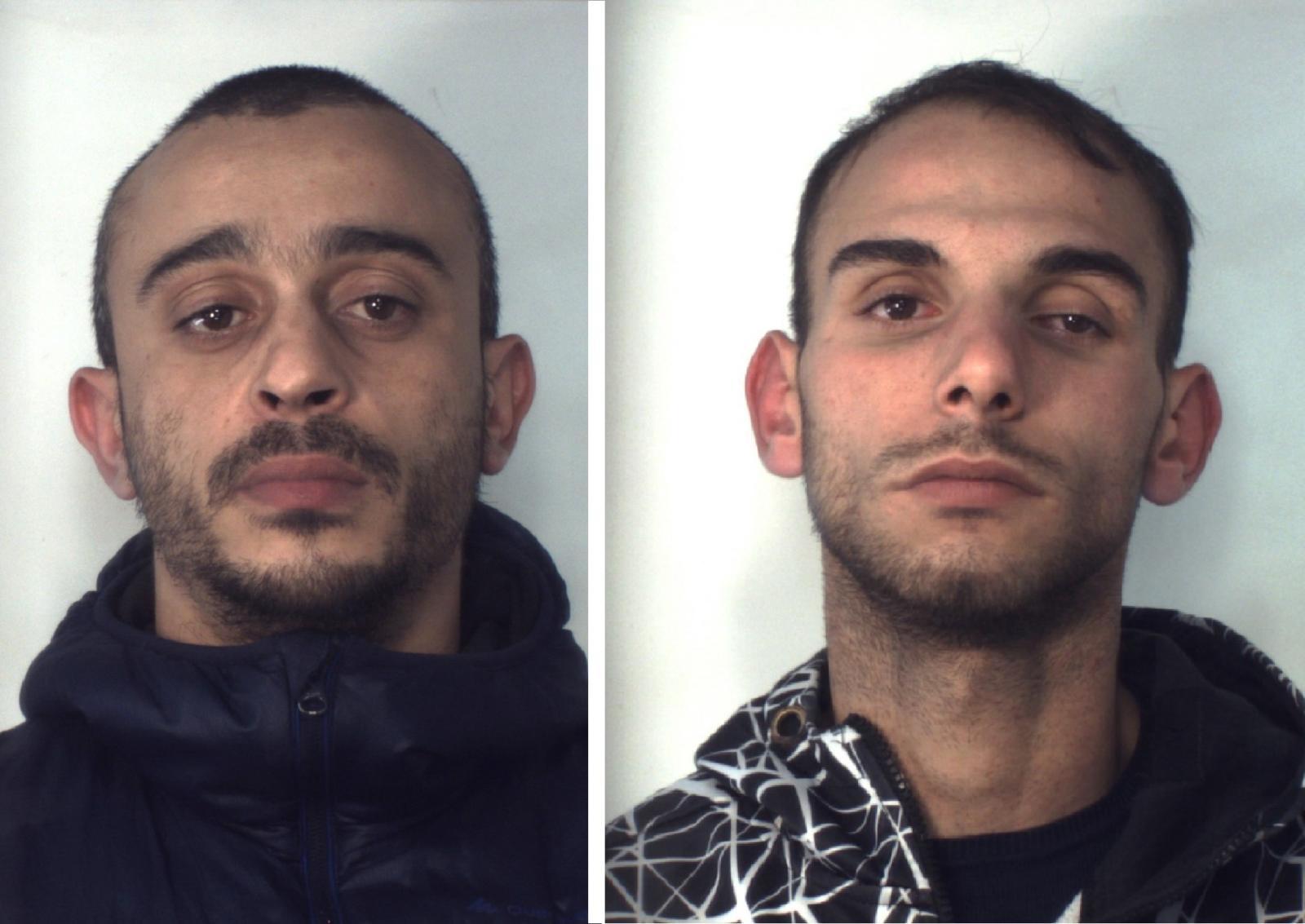 Catania, due giovani in manette per spaccio di droga ed evasione: operazione dei 'Lupi'