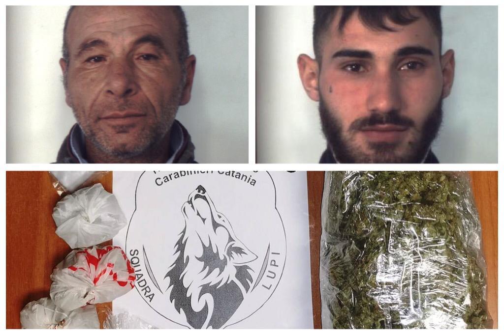 Catania, una passione di famiglia per lo spaccio e la detenzione di droga: ai domiciliari zio e nipote