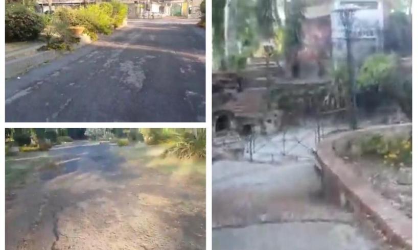 """'Muoviti Paternò' visita Villa Moncada riaperta: """"Stesso stato di abbandono rispetto a 6 mesi fa"""" (VIDEO)"""