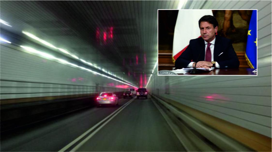 """Il premier Conte rinvia e rilancia sul Ponte sullo Stretto: """"Tunnel sottomarino quando ci saranno le condizioni"""""""