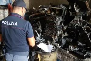 Catania, officina di Zia Lisa gestiva illegalmente rifiuti speciali: commerciante indagato