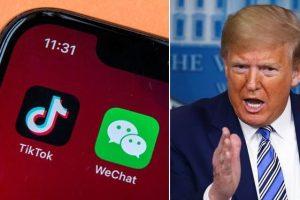 """Trump vieta di scaricare le app TikTok e WeChat: """"Salvaguardare la sicurezza nazionale degli Stati Uniti"""""""