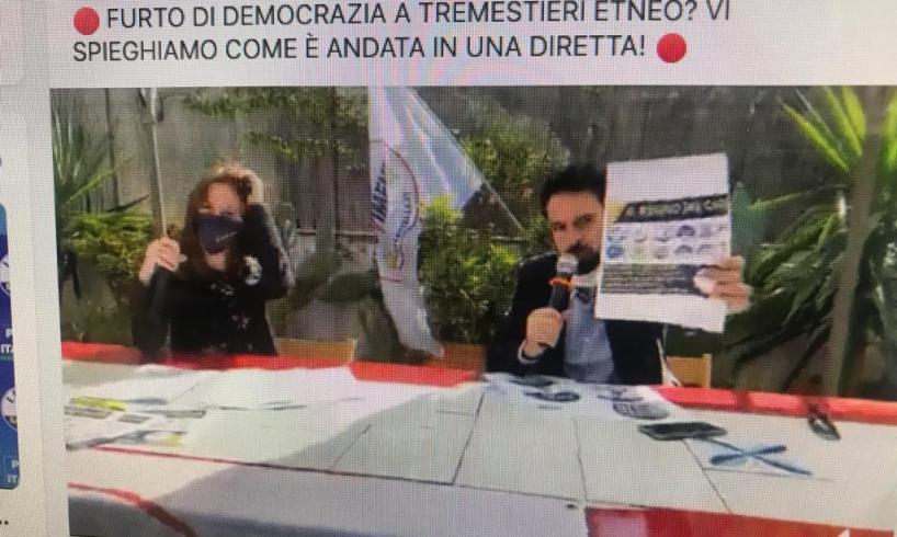 """Tremestieri Etneo, la pantomima delle finte liste civiche denunciata da Giarrusso (M5S): """"Musumeci rimette in gioco chi non ha diritto"""""""