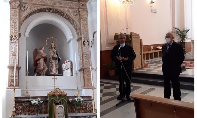 A Bronte una 'fermata' del museo diffuso dei Gagini, scultori rinascimentali: la città ospita la Madonna Annunziata
