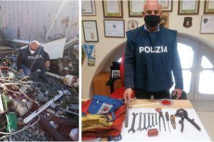 """Sicilia, business del rame: operazione """"Oro Rosso' della Polizia Ferroviaria. A Palagonia denunciati padre e figlio"""