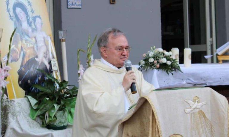 Biancavilla: muore di covid Padre Antonino Tomasello, parroco dell'Annunziata. Fino all'ultimo vicino ai fedeli