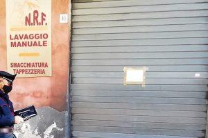 Misterbianco, lavaggio abusivo sotto sequestro: denunciato il titolare