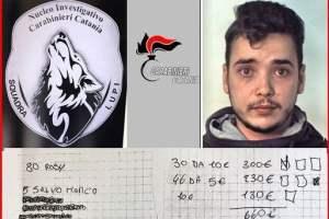 Catania, giovane pusher ai domiciliari riceveva in casa i clienti: finisce in carcere