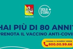Vaccino, in Sicilia parte la prenotazione per gli 'over 80': piattaforma online e Numero Verde