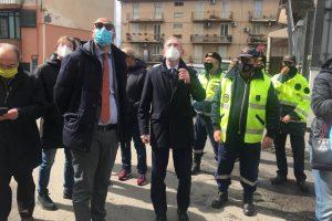 Biancavilla, il sindaco chiede interventi a Falcone: visita operativa dell'assessore