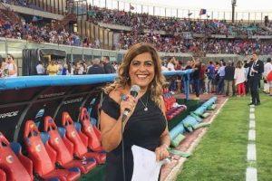 """Calcio, addio alla giornalista Stefania Sberna: era """"la voce"""" del Catania"""