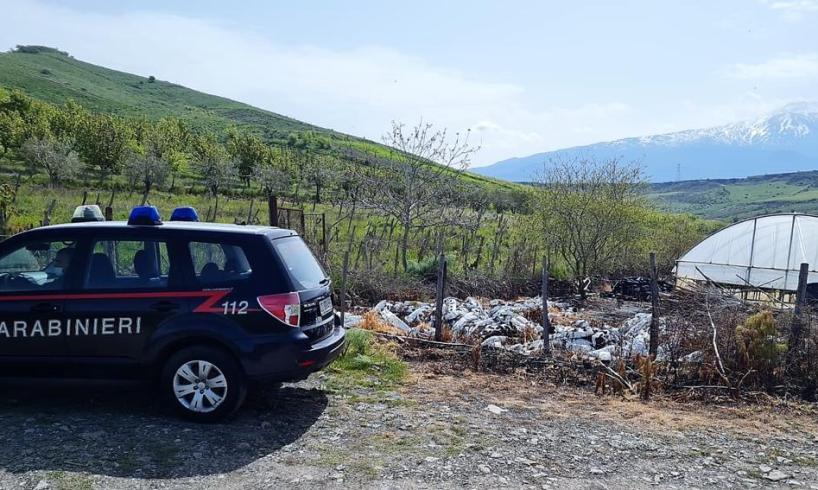 Maniace, 55enne appicca fuoco per attirare l'attenzione: denunciato per danneggiamento