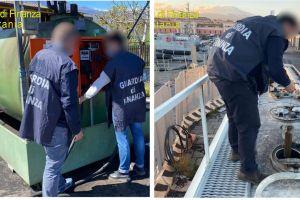 Catania, petrolio e frodi: sequestrati 100 mila lt di carburante, 2 depositi clandestini e 5 autocisterne (VIDEO)