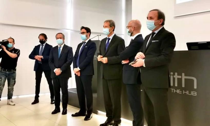 """Paternò, Musumeci visita Netith: """"Regione vicina alle imprese siciliane"""". Azienda dà lavoro a oltre 500 persone"""