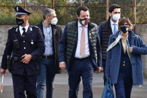 Caso Gregoretti, Salvini a Catania nell'aula bunker di Bicocca: oggi Gup decide rinvio a giudizio