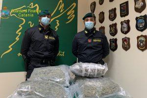Catania, sequestrati 8 kg di marijuana ad alto potenziale: arrestato in flagranza 41enne siracusano
