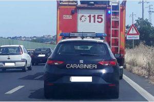 Belpasso, incidente autonomo sulla SS 121: illeso il conducente dell'auto
