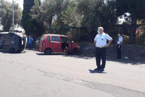 Motta Sant'Anastasia, scontro tra due auto lungo la SP 13: due feriti
