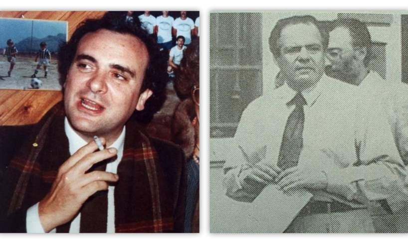 Catania, corone di fiori per Beppe Montana e Giovanni Lizzio: messa in suffragio per i due grandi poliziotti uccisi dalla mafia