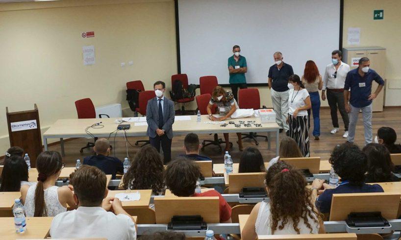"""Catania, 2700 candidati ai test di Medicina e Odontoiatria. Il rettore Priolo: """"Università diventi la vostra casa"""""""