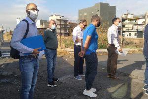 Paternò, contratti di quartiere: sopralluogo di sindaco e assessori in uno dei cantieri