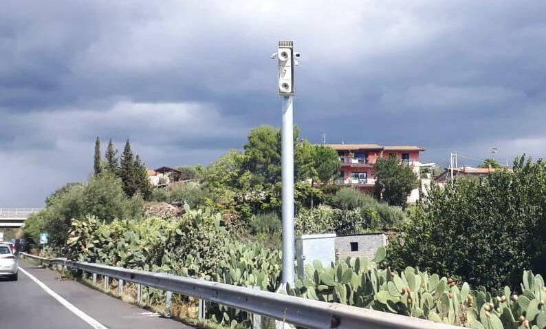 Paternò, un altro Autovelox sulla SS.284 in contrada Scalilli: si andrà a 90 km/h