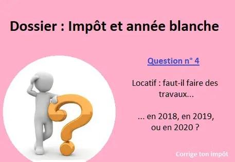 Impots 2020 Calendrier.Locatif Et Impot A La Source Travaux En 2018 2019 Ou 2020