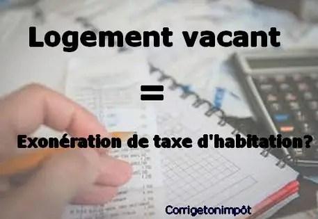 Lettre Type Exonération De Taxe D Habitation Sur Logement