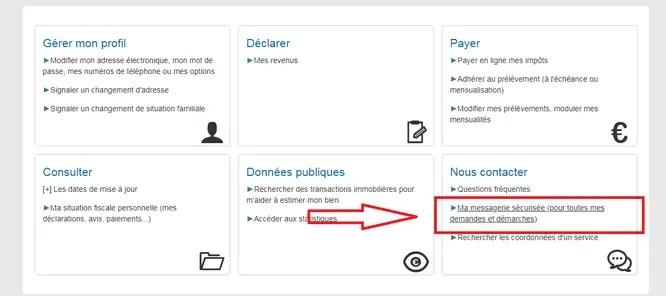 impots.gouv.fr contact téléphone