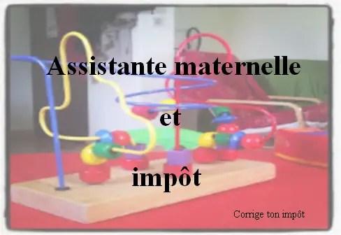 Declaration D Impot Des Assistantes Maternelles Calcul De L Abattement
