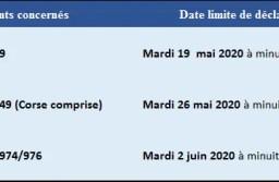 Dates limites des déclarations d'impôts 2020 : version en ligne et papier.