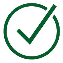 icono de verificación
