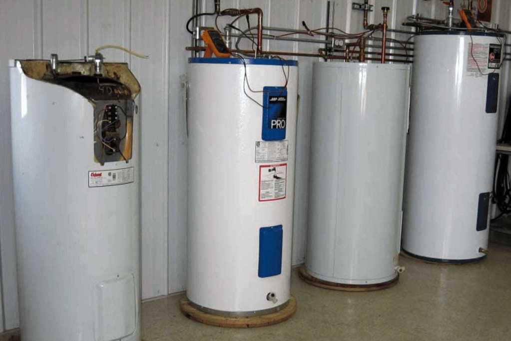 Réchauffeur d'eau pendant les tests en laboratoire des tiges d'anodes CORRO-PROTEC