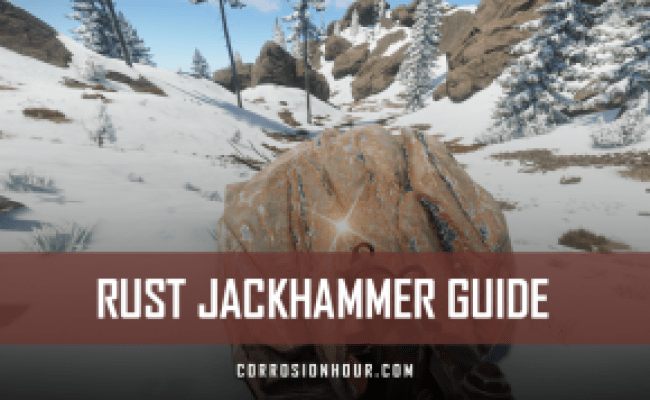 Rust New Player Guides Corrosion Hour