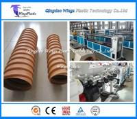 China HDPE Pretressed Corrugated Pipe Plant / Machinery