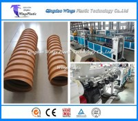 China HDPE Pretressed Corrugated Pipe Plant / Machinery ...