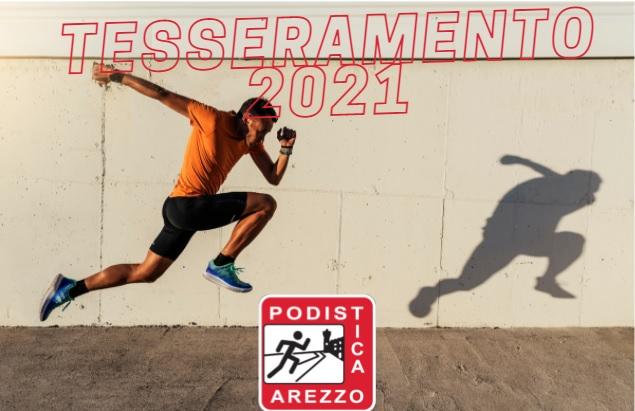 TESSERAMENTO PODISTICA 2021