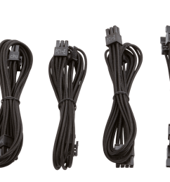 the paracord material allows for easy installation and cable routing especially in small form factor systems where space is limited  [ 1800 x 785 Pixel ]