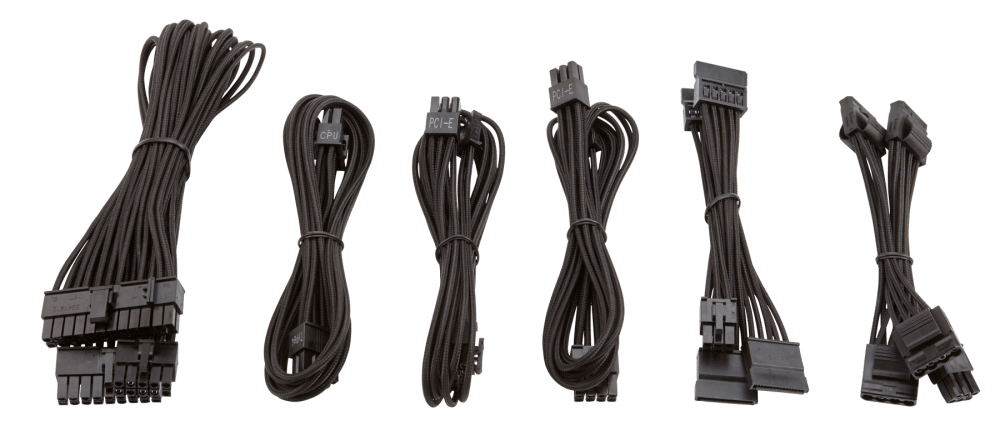 medium resolution of the paracord material allows for easy installation and cable routing especially in small form factor systems where space is limited