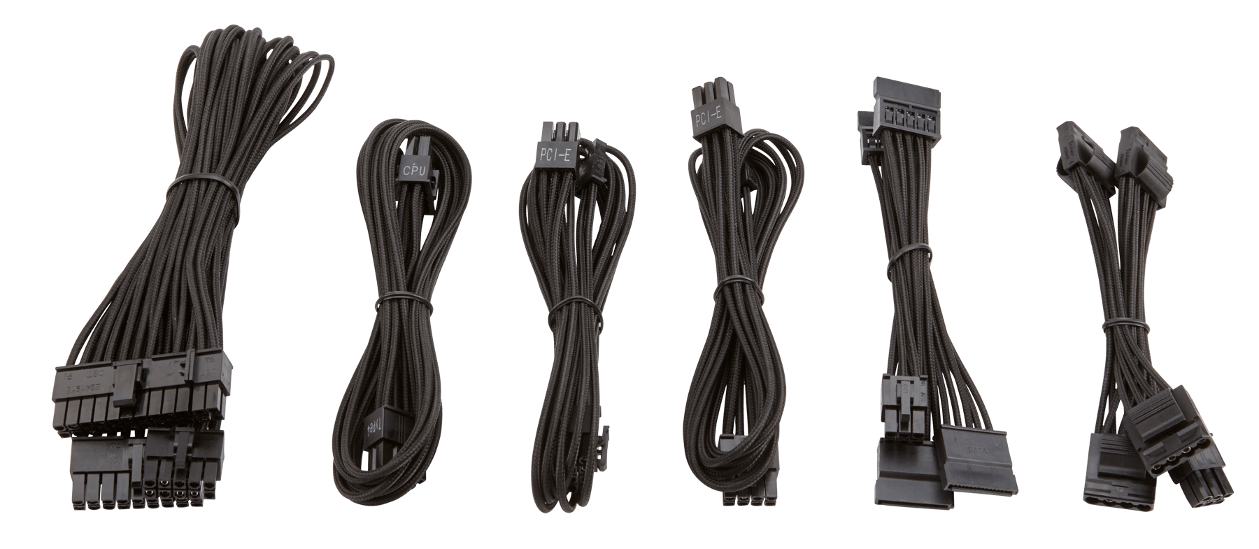 hight resolution of the paracord material allows for easy installation and cable routing especially in small form factor systems where space is limited
