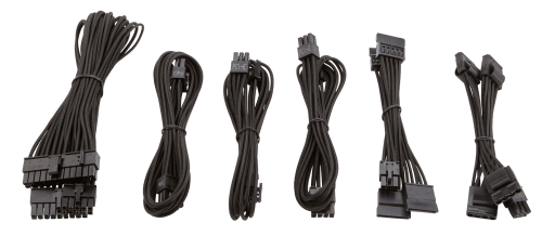 small resolution of the paracord material allows for easy installation and cable routing especially in small form factor systems where space is limited